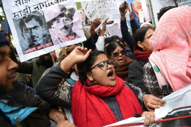 Les manifestations en Inde, fractures au sein de familles hindoues
