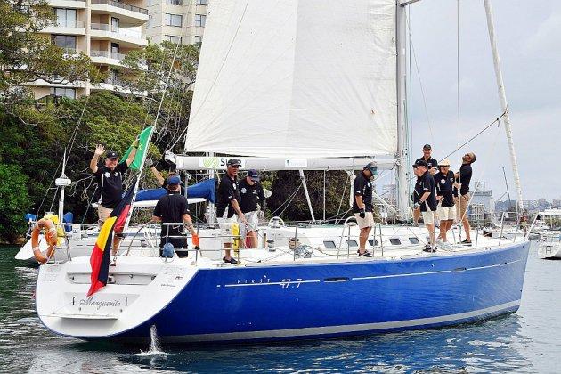 """Voile: le """"grand défi"""" du premier équipage aborigène de la Sydney-Hobart"""