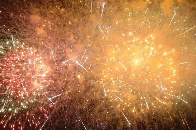 Feu d'artifice du Nouvel An annulé à cause de la météo