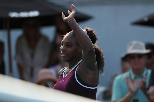 WTA: Serena Williams, intraitable, rallie la finale à Auckland