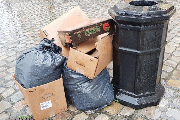La collecte des déchets reprend à Caen-la-Mer