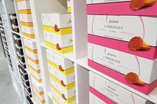 Les madeleines Jeannette à l'Elysée