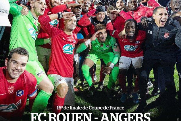 Suivez en direct sur Tendance Ouest le match Rouen - Angers