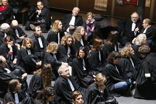 Retraites : les avocats s'expriment dans le silence