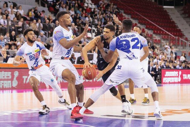 C'est jour de derby normand entre le Rouen Métropole Basketet Évreux !