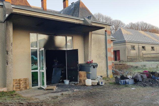 Début d'incendie dans une sellerie du Haras national