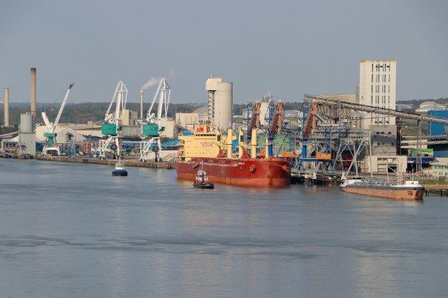 Les ports du Havre et de Rouen mesurent l'impact des grèves