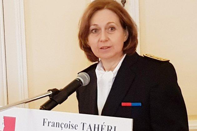 La nouvelle préfète de l'Orne Françoise Tahéri a pris ses fonctions