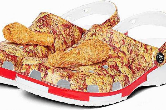 L'alliance improbable des chaussures Crocs et du KFC