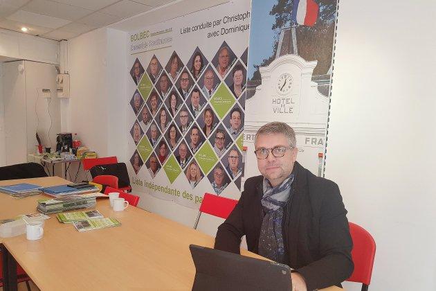 Bolbec. Municipales. Christophe Doré présente son programme