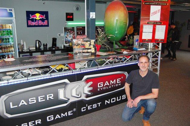 Du laser game sur les quais de Rouen