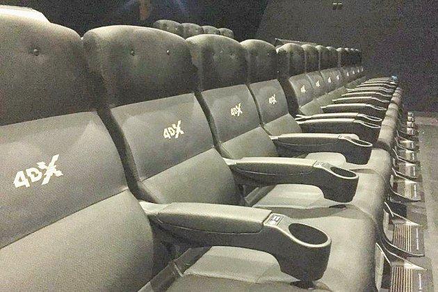 Découvrir la 4DX au cinéma Gaumont