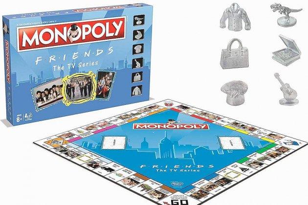 Monopoly sort une version dérivée de la série Friends!