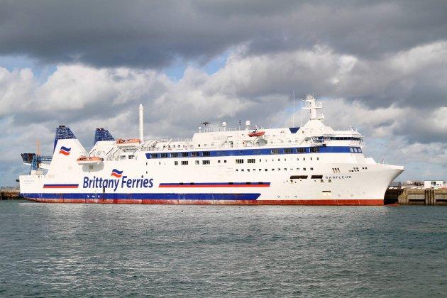 La Brittany Ferriessuspend ses liaisons avec l'Angleterre