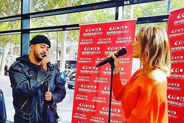 Les chanteurs Slimane & Vitaa lancent un défi créatif à leurs fans