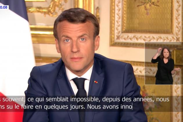 Allocution d'Emmanuel Macron : 36,7 millions de téléspectateurs, un record