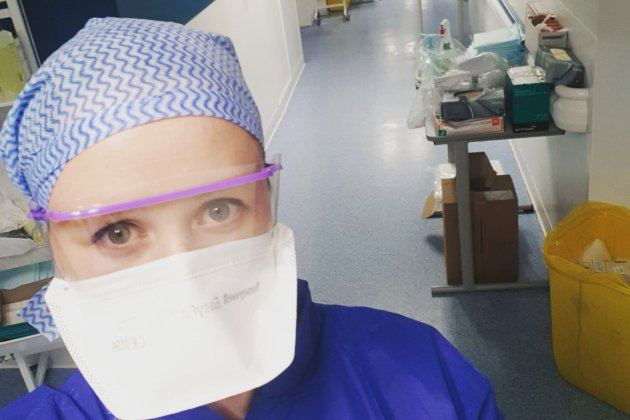 """Clara, infirmière à Caen, renfort en Ile-de-France : """"J'ai juste fait mon travail"""""""