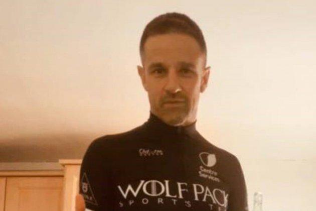 24 heures de vélo à domicile pour Adrien Boulier, adepte d'Iron Man
