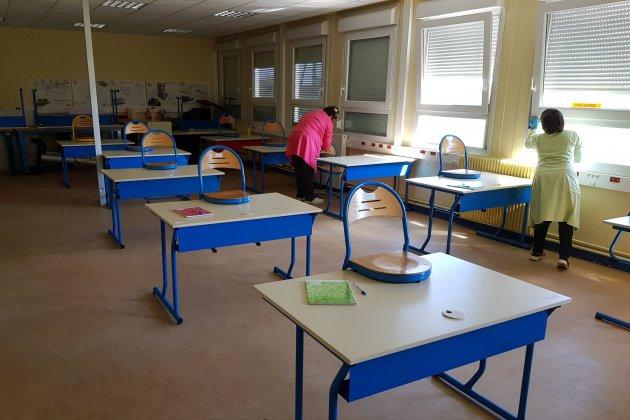 Le collège Henri-Wallon prépare sa réouverture