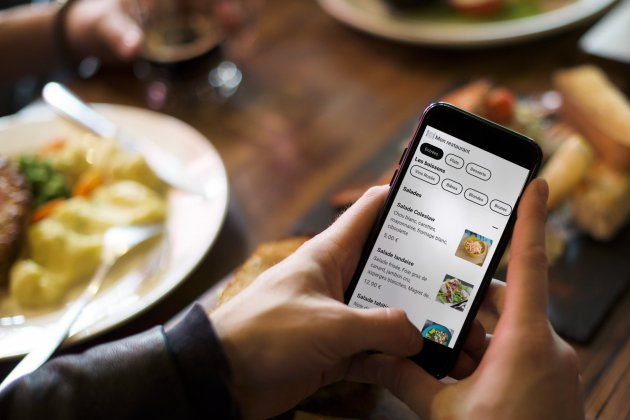 Une appli pour éviter de manipuler les cartes des restaurants