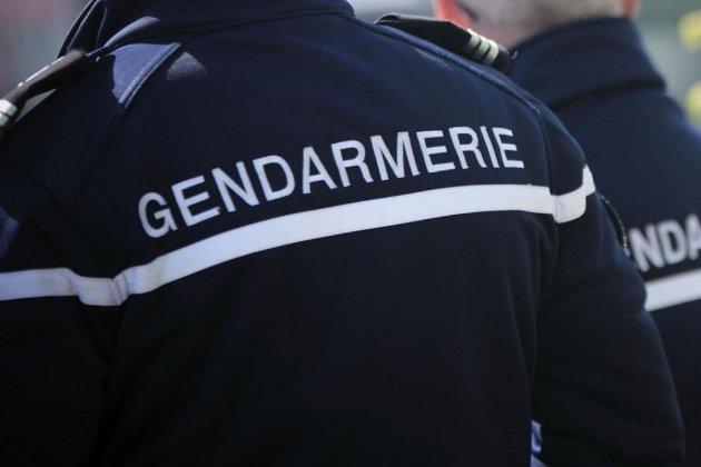 Une voiture de gendarmerie impliquée dans un accident de la route