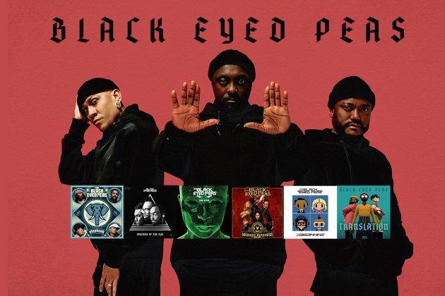 Gagnez tous lesalbumsdes Black Eyed Peas