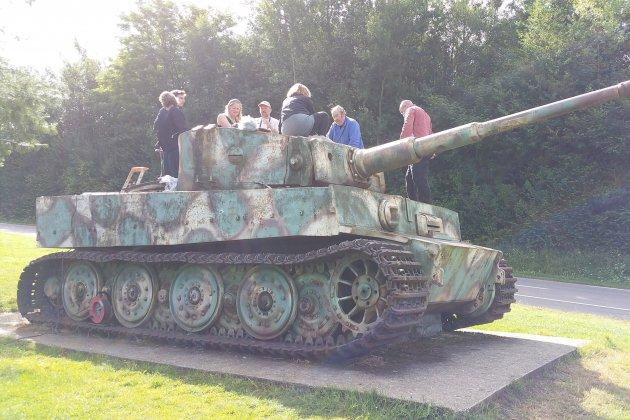 A visiter : le seul char de l'armée allemande resté en Normandie