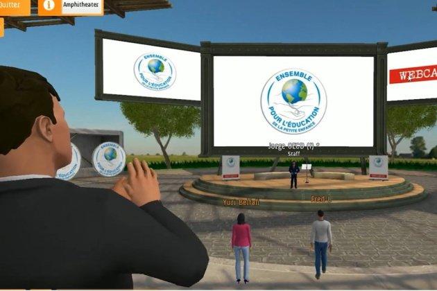 Un congrès mondial virtuel organisé à la manière du jeu Fortnite