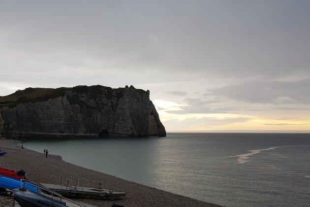 Un couple de Britanniques piégé par la marée