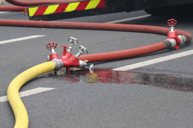 Plus de 200 tonnes de lin détruites dans l'incendie d'un bâtiment agricole
