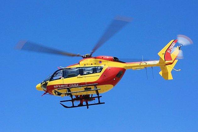 Sauvetage d'un kitesurfeur en difficulté au large de la pointe d'Ailly