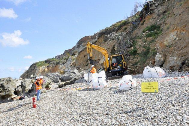 Un test pour évacuer les déchets des anciennes décharges de Dollemard