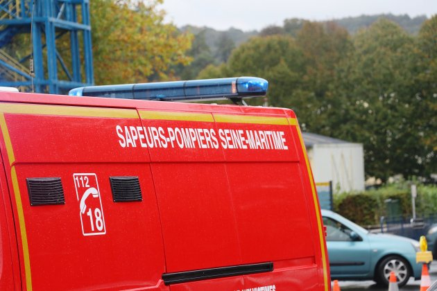 Important feu de forêt en Pays de Bray, les pompiers toujours sur place