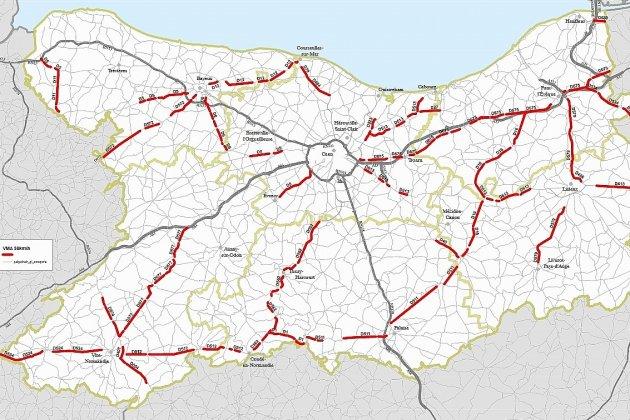 A partir de lundi, 435 kilomètres de routes repassent à 90km/h