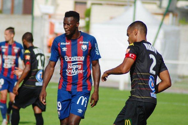 Le Malherbiste Malik Tchokounté rejoint l'USL Dunkerque