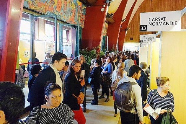 Des centaines d'offres d'emploi à la Halle aux toiles à Rouen