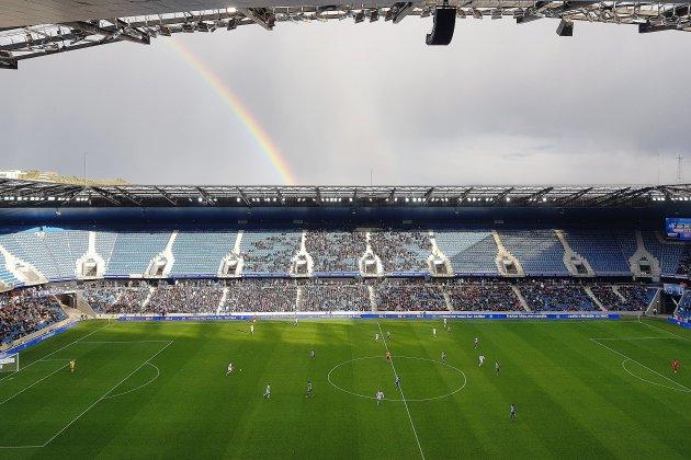 Premier match officiel de la saison au stade Océane pour le HAC