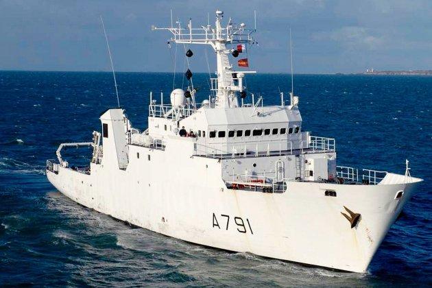 La Pérouse en escale au Havre pour les Fêtes de la Mer