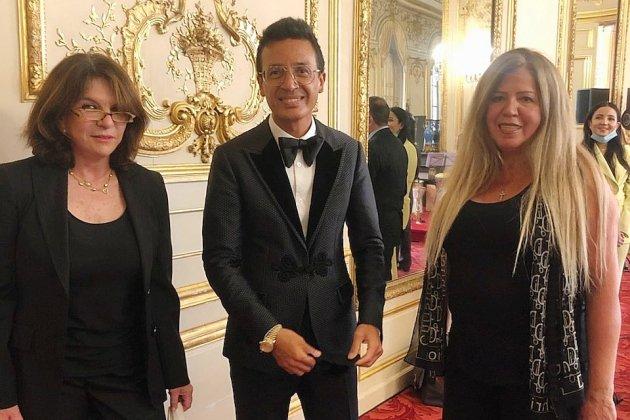 """Une Ornaise assiste au """"Concert pour Beyrouth"""", au Sénat à Paris"""