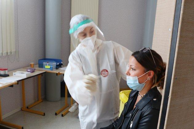 Première journée de dépistage du Covid-19 à l'IUT