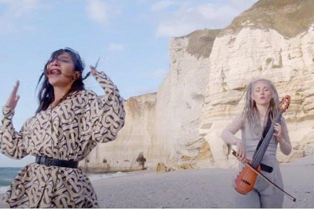 Le clip de Summer 2020 de L.E.J. a été tourné à Etretat