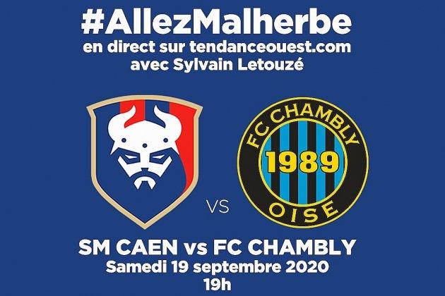 Suivez le match Caen-Chambly en directavec Tendance Ouest !