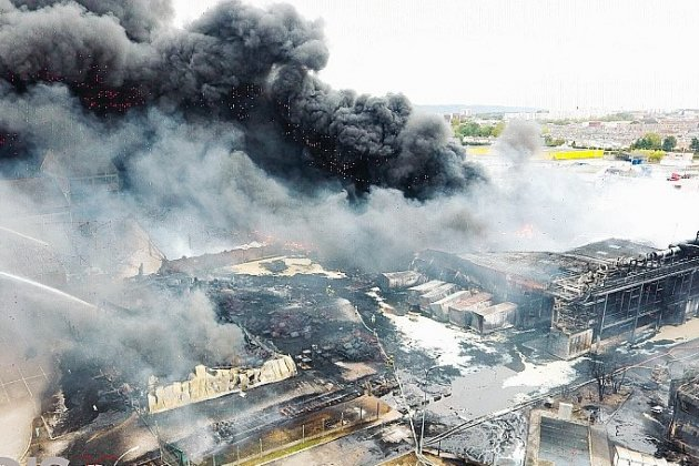 Fin du nettoyage du site, 3000 tonnes de déchets évacuées