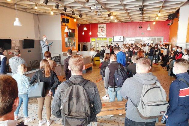 Un millier d'apprentis font leur rentrée au centre formation 3 IFA à Alençon
