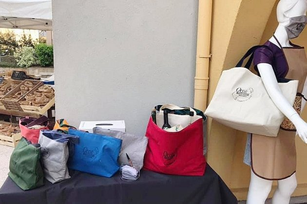 Réinsertion professionnelle: ellescréent des sacs cabas écologiques