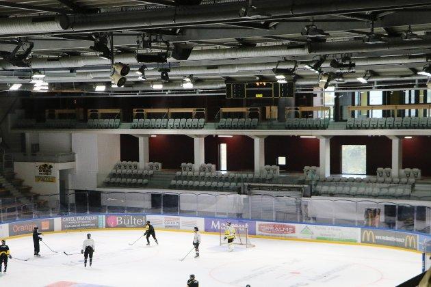 La patinoire de l'Ile Lacroix est à nouveau opérationnelle!