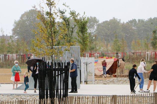 Le nouveau parc du Champ des Bruyères est ouvert au public