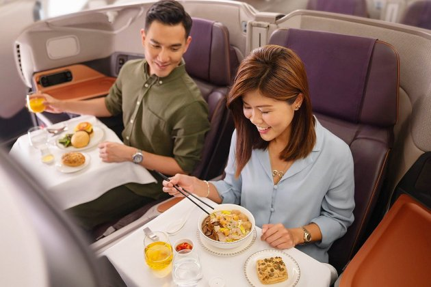 Une compagnieaérienne transformeun avion... en restaurant !