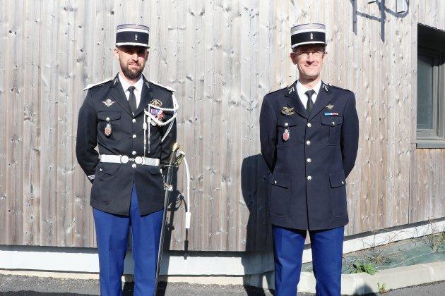Le nouveau capitaine de gendarmerie a pris ses fonctions