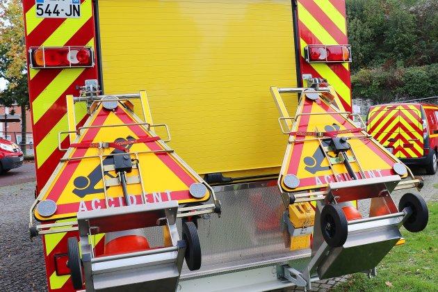 Deux blessés dans un accident sur la N174